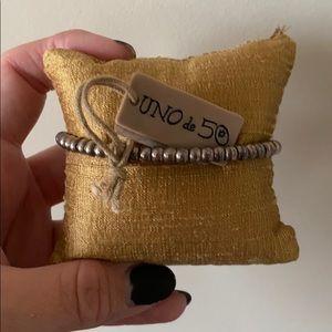Uno de 50 beaded bracelet